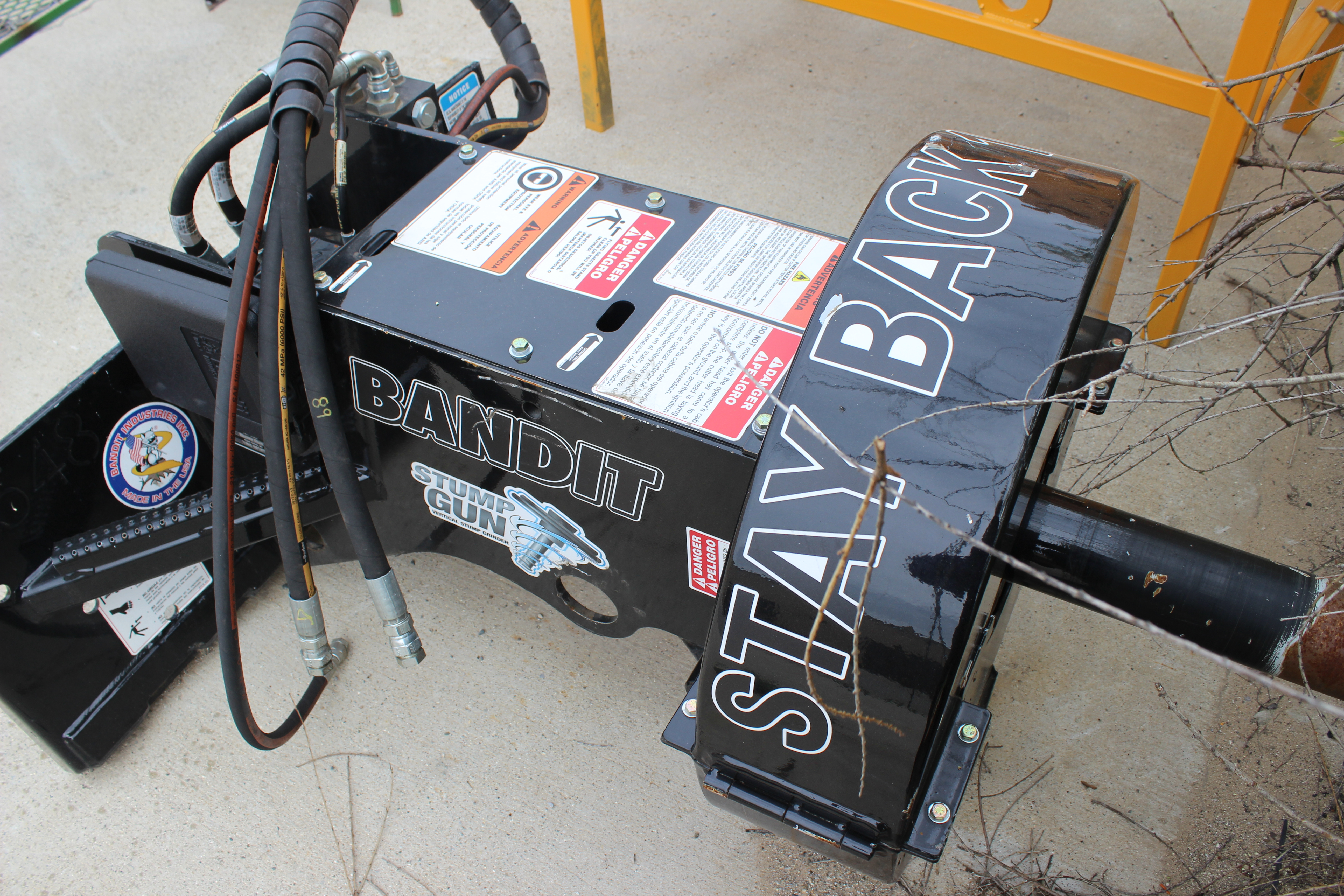 Bandit Industries Inc Cable Remote Wiring Diagram For Sa 200 Black